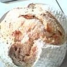 酵母でカンパーニュ