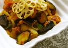 ラタトゥイユ風∮野菜のトマトソース和え
