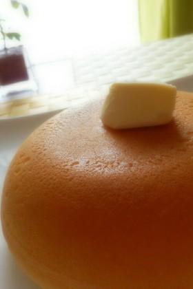 炊飯器で簡単!米粉のサクふわホットケーキ