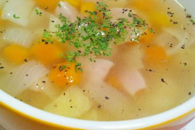 味付け コンソメ スープ