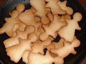 型抜きクッキー♪