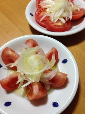 トマトと玉ねぎでサラサラさらだ☆