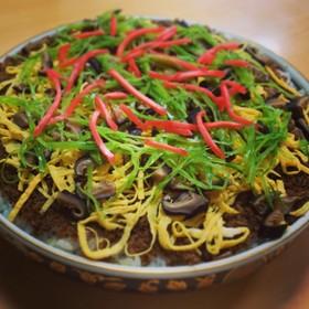 丹後ばら寿司/サバ缶でんぶのちらし寿司