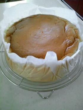ふわわんしゅわわんスフレチーズケーキ