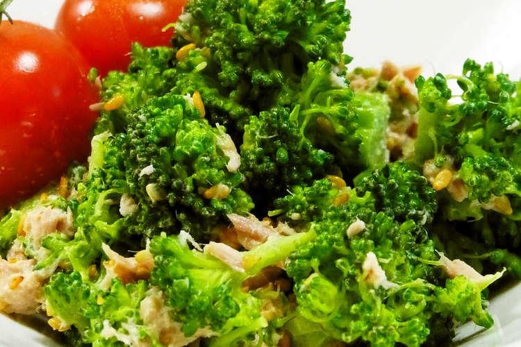 ツナ サラダ ブロッコリー