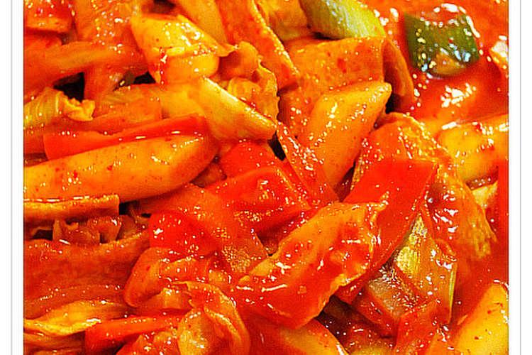 ✽野菜たっぷりのトッポッキ✽ レシピ・作り方 by kanako8224 ...