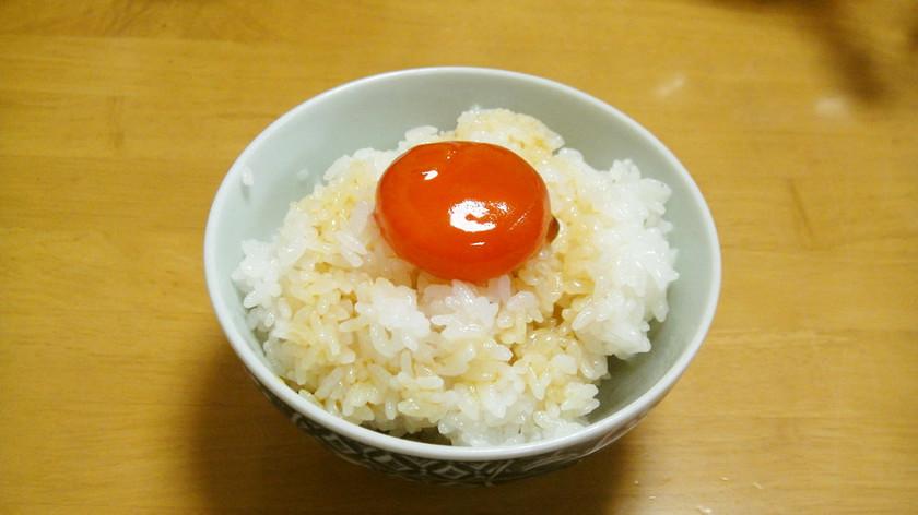 [簡単]醤油タレ漬け卵黄