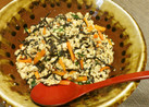 ひじきとツナ入り*炒り豆腐