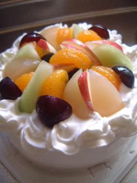 ☆フルーツいっぱいケーキ