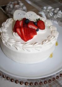 デコレーションケーキ♡綺麗にナッペしよう