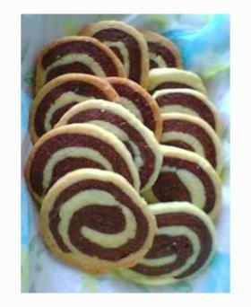 渦巻きクッキー☆ぐーる◎ぐーる