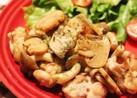 簡単☆クミン香る鶏と茸のガーリックソテー