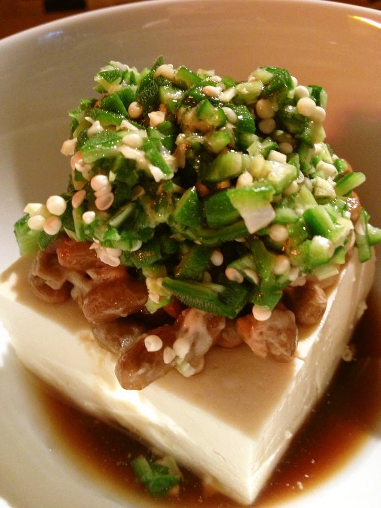 ネバネバ・ダイエット豆腐