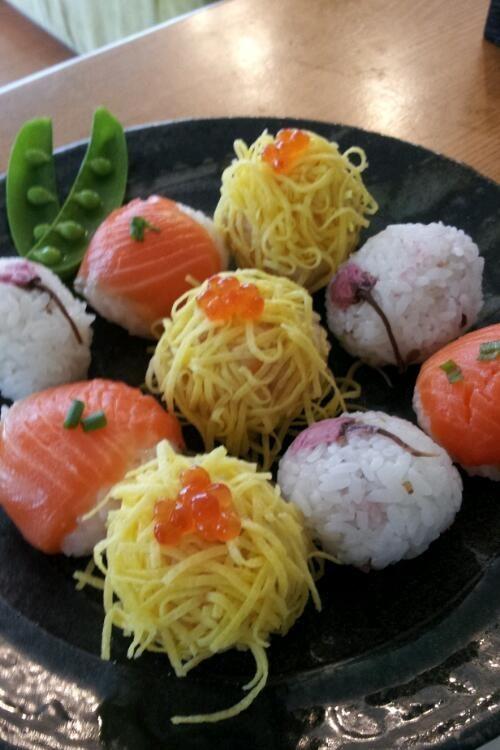 春お花見手鞠寿司 おもてなし・雛祭りにも
