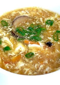 ベジタリアンサンラータン (酸辣湯)