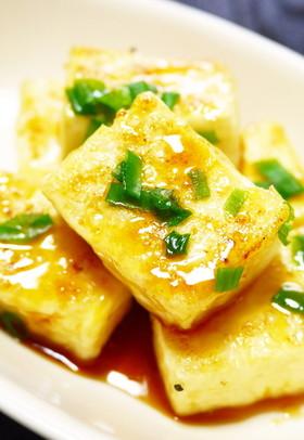 木綿豆腐の照り焼き
