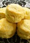 バターなし、マーガリンで柔らかスコーン