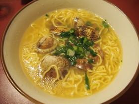 あさりスープのマルちゃん正麺♪