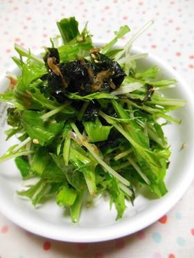 簡単✿水菜サラダ
