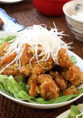 カリカリ&ジューシー油淋鶏 鶏の唐揚げ