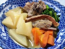 京風スペアリブの煮物