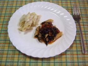 ペンネ2種 チーズ・トマトツナ