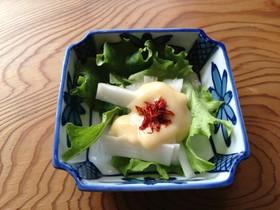 【薬膳レシピ】ウドの酢味噌サラダ