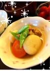 彩り鮮やか*根菜と鶏の煮物