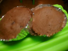 レンジで作る☆マフィン風カップケーキ♪