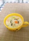 コンソメ不要☆あさりの豆乳スープ
