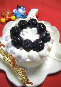 ♪離乳食でお祝いメニュー●1歳のバースデーケーキ●♪
