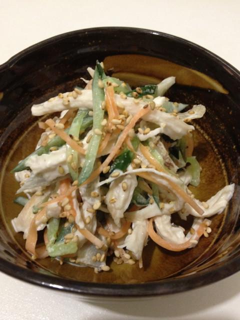 小料理屋風*鶏ごぼうサラダ