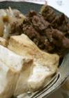 簡単 肉豆腐