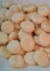 余った卵白使用☆レンジde簡単クッキー