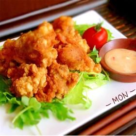 鶏の唐揚☆彡サクサクジューシィ♪