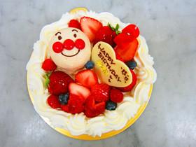アンパンマンケーキ♡
