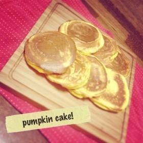 簡単!かぼちゃパンケーキ