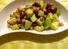 春のアボカドと豆のサラダ☆