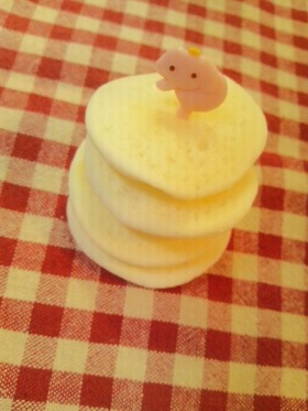 *離乳食中期〜 卵、乳なしパンケーキ