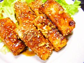 低コスト♡焼肉マヨ味の豆腐ステーキ