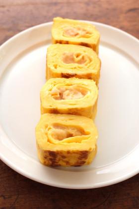 タラコの卵焼き