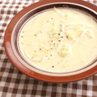 白菜のコーンスープ