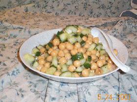 さっぱり豆サラダ