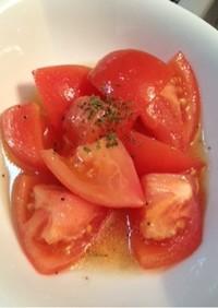トマトのマリネ風サラダ