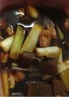 ダイエットに♪絶品こんにゃくと葱の煮物