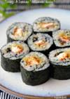 鰻&たくあんの細巻き寿司