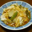 中華名菜でマーボー白菜