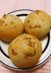 無花果とメープル粒ジャムのパン