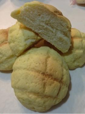 薄力粉だけでメロンパン