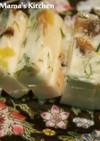 カッテージチーズとエビのテリーヌ